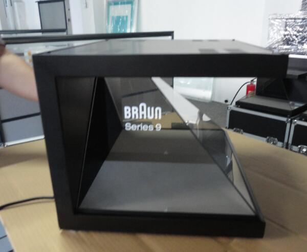 3D holographic display 22 inch 3 sides-For U Tech