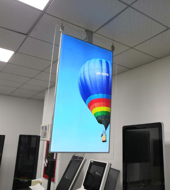 55 inch QLED 2CM thin double sided display 1