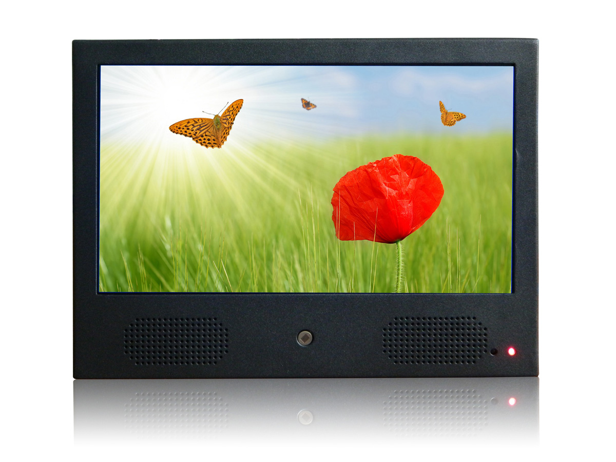 AD10 MOTION SENSOR LCD ADVERTISING PLAYER-1-ForU Tech